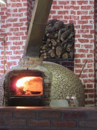 Florios: The oven is used for cooking including home made bread made every day.