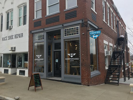 Hammerhand Coffee Company on Historic Square in Liberty MO