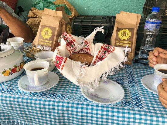 Ciudad Vieja, Guatemala: Coffee tasting!