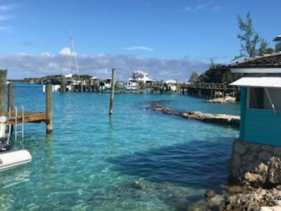 Staniel Air & Exuma Adventures - view of the harbor
