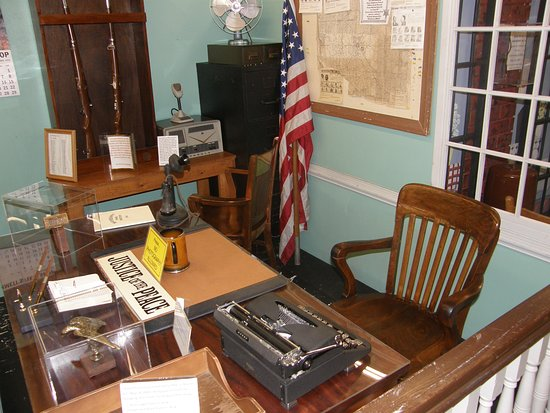 "The Andy Griffith Museum: Sheriff Taylor's desk from ""The Andy Griffith Show"" is only one of many artifacts from the show."