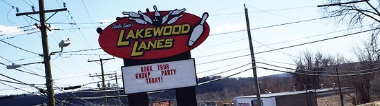 Lakewood Lanes Sign