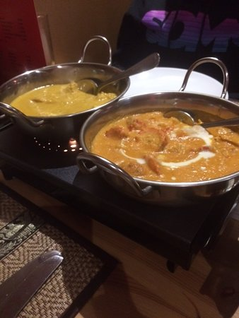Inverbervie, UK: Chicken Korma & Cottage special korma