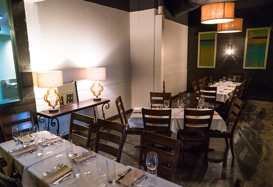 Private Dining Room Picture Of M Restaurant Nashville