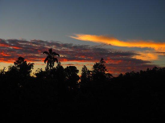 San Vito, Costa Rica: Sunrise at Las Cruces.