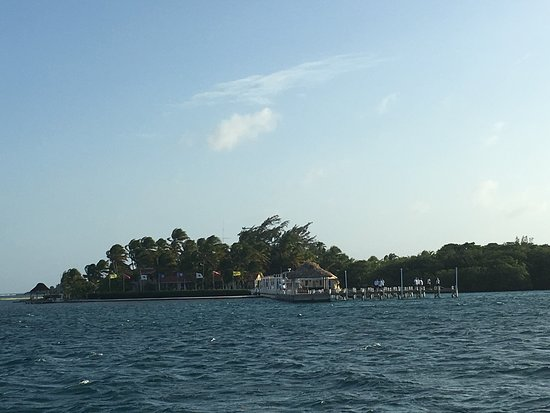 Turneffe Island, Belize: View of Island