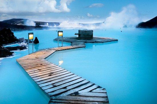 Термальный бассейн Голубая лагуна