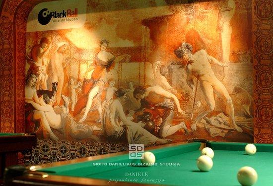 Billiard Club Blackball