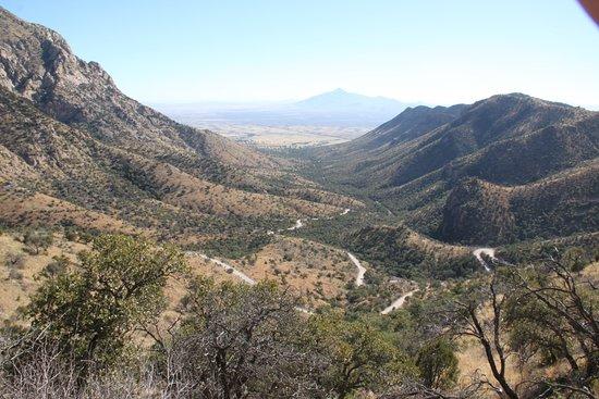 Hereford, AZ: Bilvägen mot parkeringen