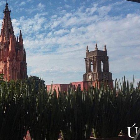 Hermosa Vista Desde La Terraza De La única En San Miguel