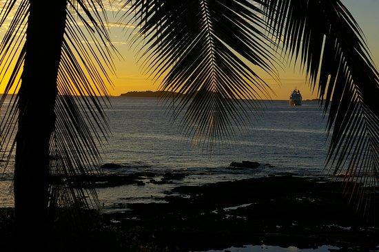 Golfo de Chiriqui National Park, Panamá: Bay view from lodge.