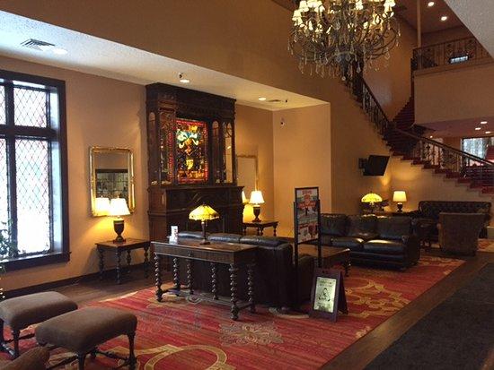 Clymer, NY: lobby