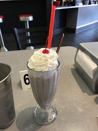 San Mateo, CA: Oreo milkshake