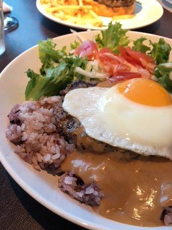 Teddy's Bigger Burgers, Harajuku-Omotesando: ロコモコ丼