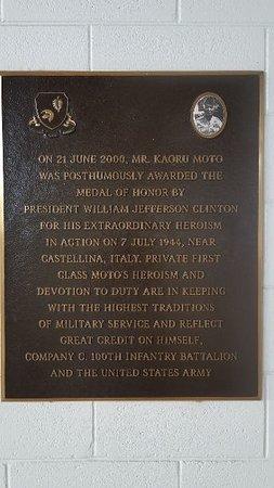 Maui Veterans Cemetery: Kauro Moto Memorial pavillion