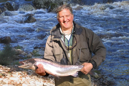 Evanton, UK: A cracking August salmon.