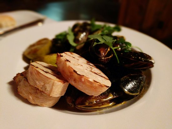 The Table at Crestwood : PEI Mussels