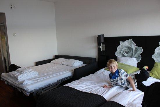 Scandic Ariadne: Sofa som ekstra seng