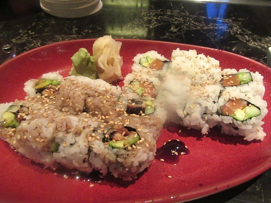 Sushi Rolls Ondori Asian Kitchen New Orleans Casino Las