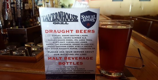 Tavern House Grill: Draughts