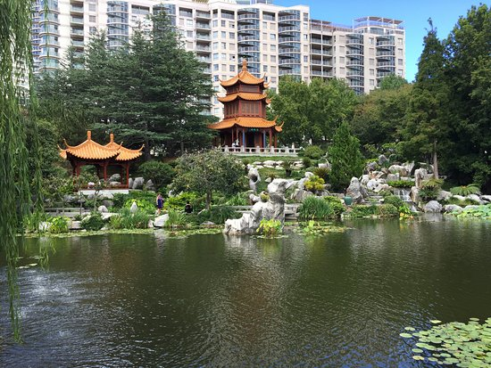 Chinese Garden of Friendship: Central Lake