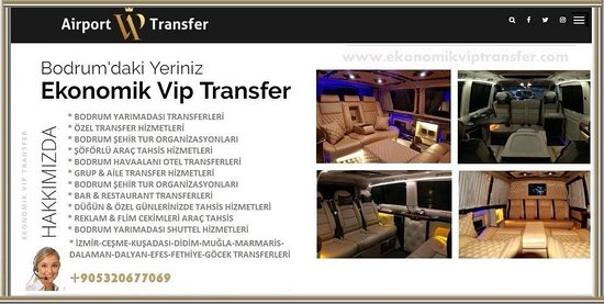 Ekonomik Vip Transfer - Ev Oteli Turizm