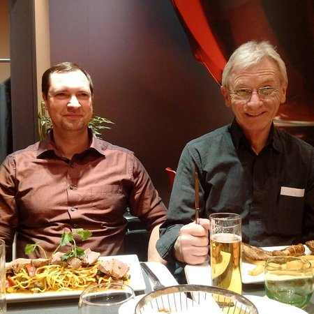 two germans with good food picture of ibis koeln messe cologne tripadvisor. Black Bedroom Furniture Sets. Home Design Ideas