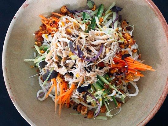 DUO Dining Room Bar Chicken Noodle Salad