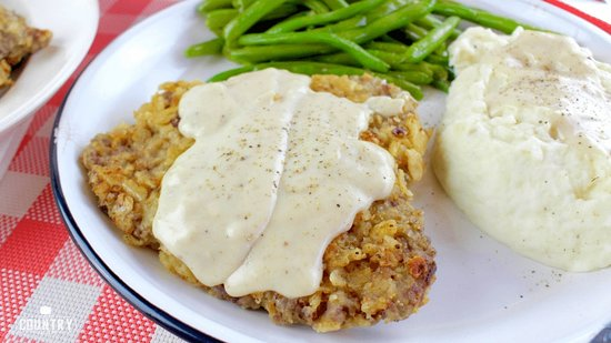 Sanger, Техас: Chicken fried steak only 8.99