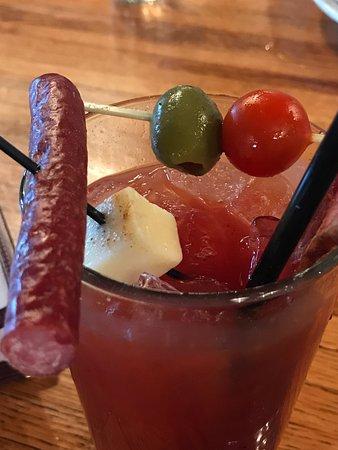 Pewaukee, WI: More Bacon Bloody Mary Garnish