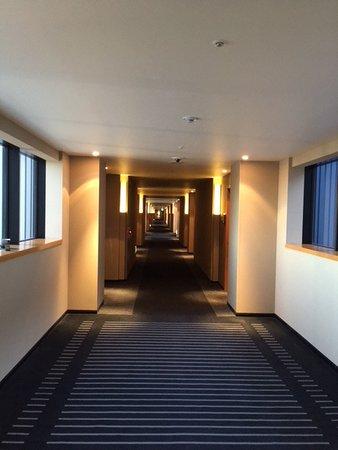 Hotel Granvia Kyoto: 廊下が長~い