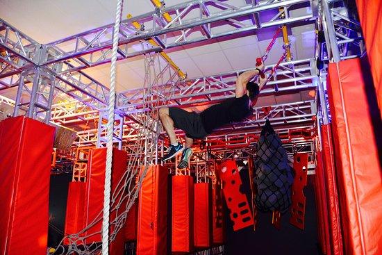 Urban Warrior: Swing To Cargo Net