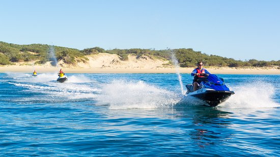 Great Keppel Island, Australia: Guided tours run all day