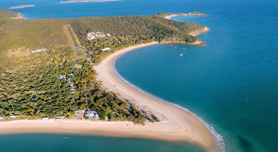 Great Keppel Island, Australia: GKI from above