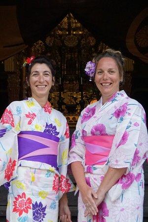 Kimono Experience(Wearing Yukata in summer)