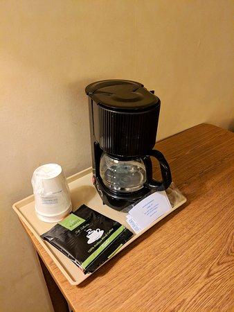 El Paso, IL: Real coffeemaker!