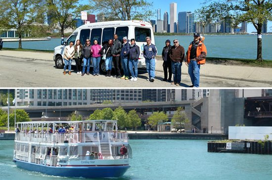 Chicago City Minibus Tour with Optional Architecture River Cruise