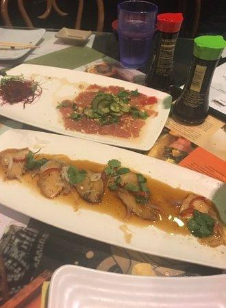 Sansei Seafood Restaurant & Sushi Bar: Tuna carpaccio