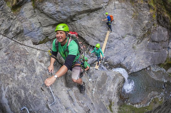 Beginner Waterfall Climb from Wanaka...