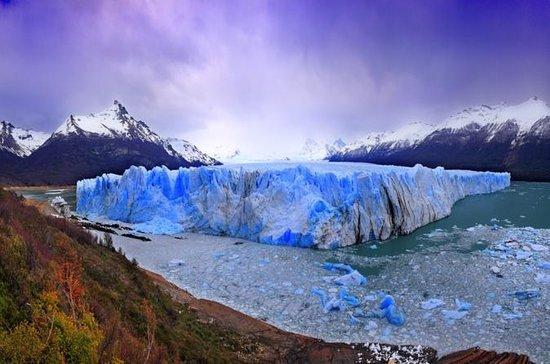 Perito Moreno isbreen med båttur og...