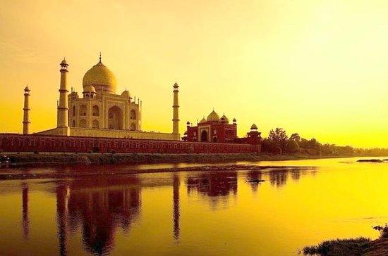 Romance del Taj Mahal Sunrise Tour con...