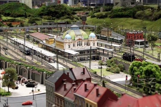 プラハの鉄道王国の入場券