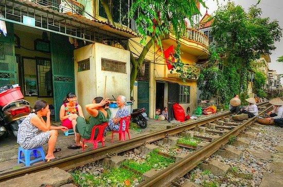 Único Hanoi city tour e bebendo ao...
