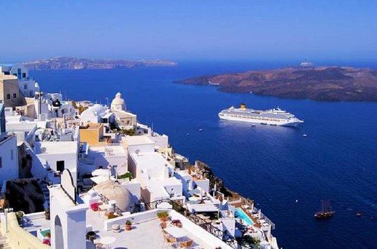 Excursión privada a Santorini, una...