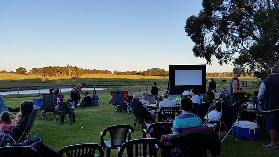 Taunton Farm Holiday Park: Outdoor Movies in Summer