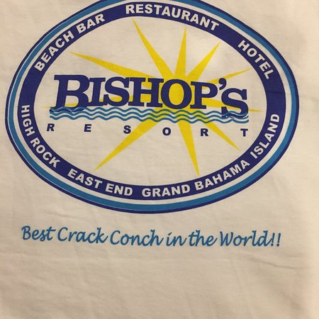 The Beach Club Restaurant & Bar : Best Cracked Conch! Make sure you buy a t-shirt $15