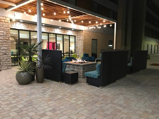 Fairview, TX: outside patio