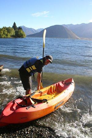 Waikari, Nouvelle-Zélande : Kayaking in the High Country
