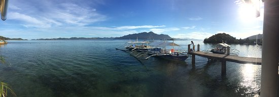 Chindonan Island, Philippinen: view from restaurant