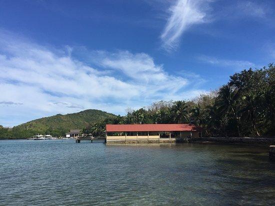 Chindonan Island, Philippinen: the restaurant area